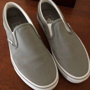 Vans Grey Size 8